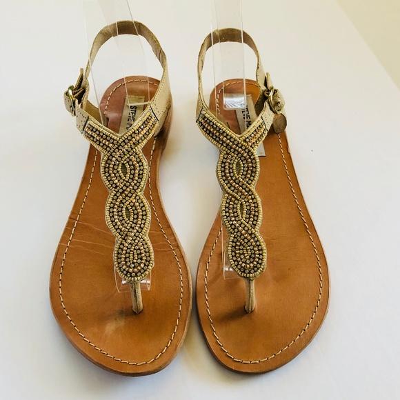 2cea464cb1ff28 Steve Madden Shoes - Steve Madden Rhinestone Thong Sandal